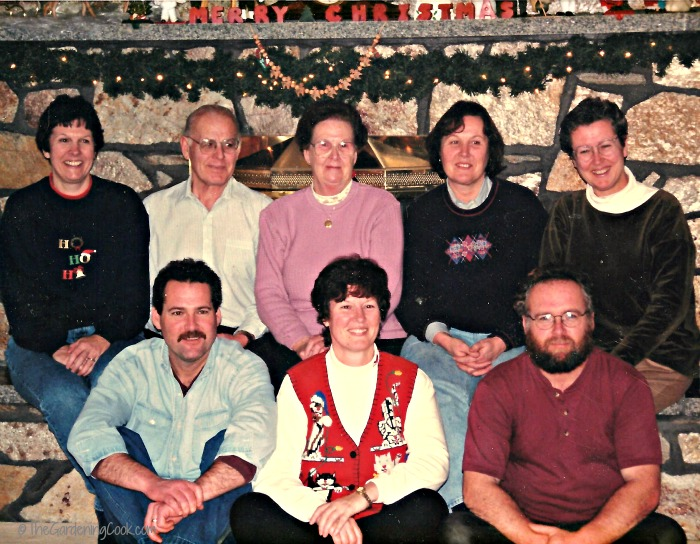 The Gervais Family in 1992.