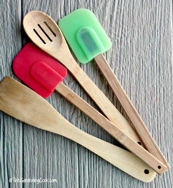 Silicone Spatulas or wooden spoons are needed to make perfect fudge.