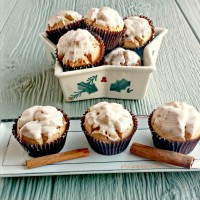 Eggnog muffins - make a great Santa treat