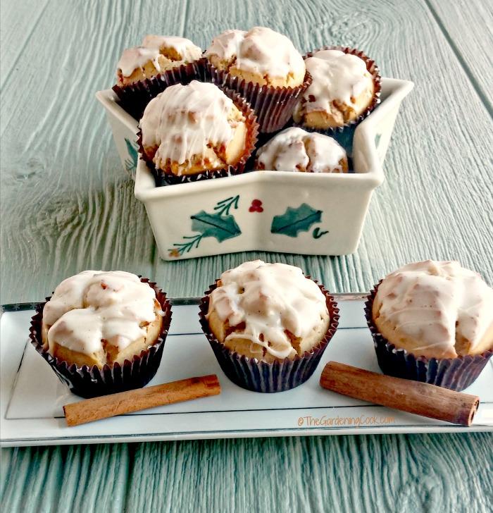 Eggnog muffins - make a great Santa treat