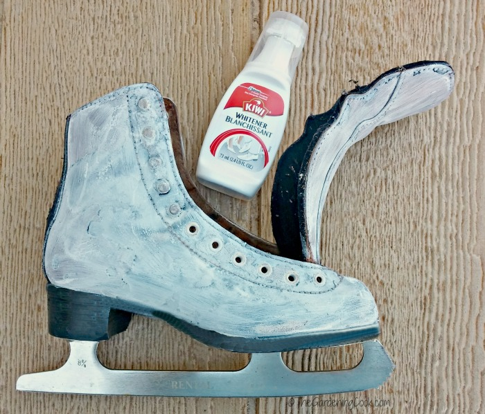 polish the skates