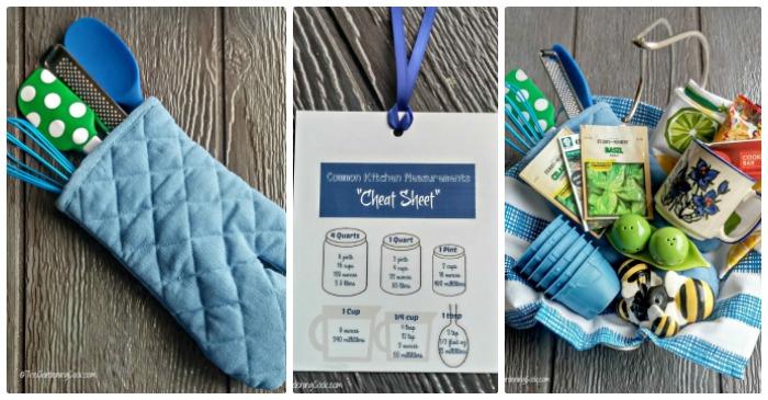 kitchen gift basket 10 tips a free printable - Kitchen Gift Basket Ideas