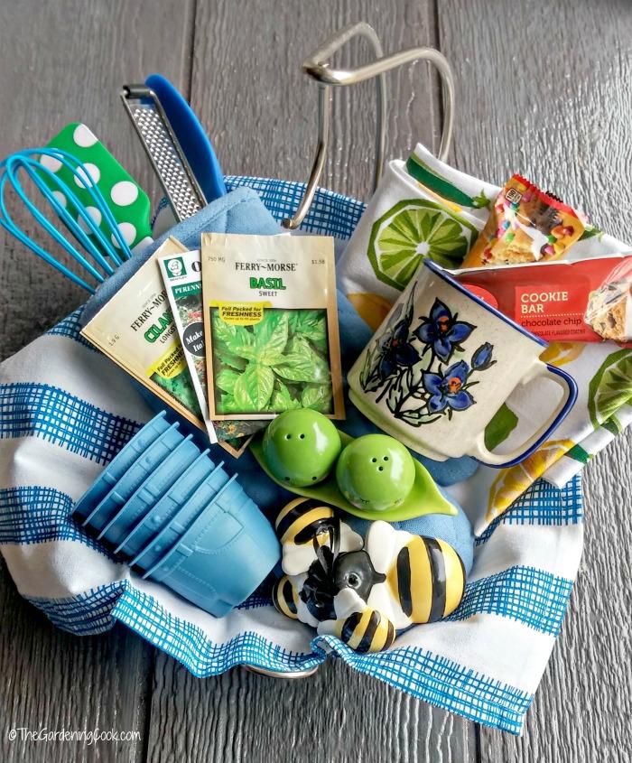 Bridal Shower Kitchen Gift Basket Ideas
