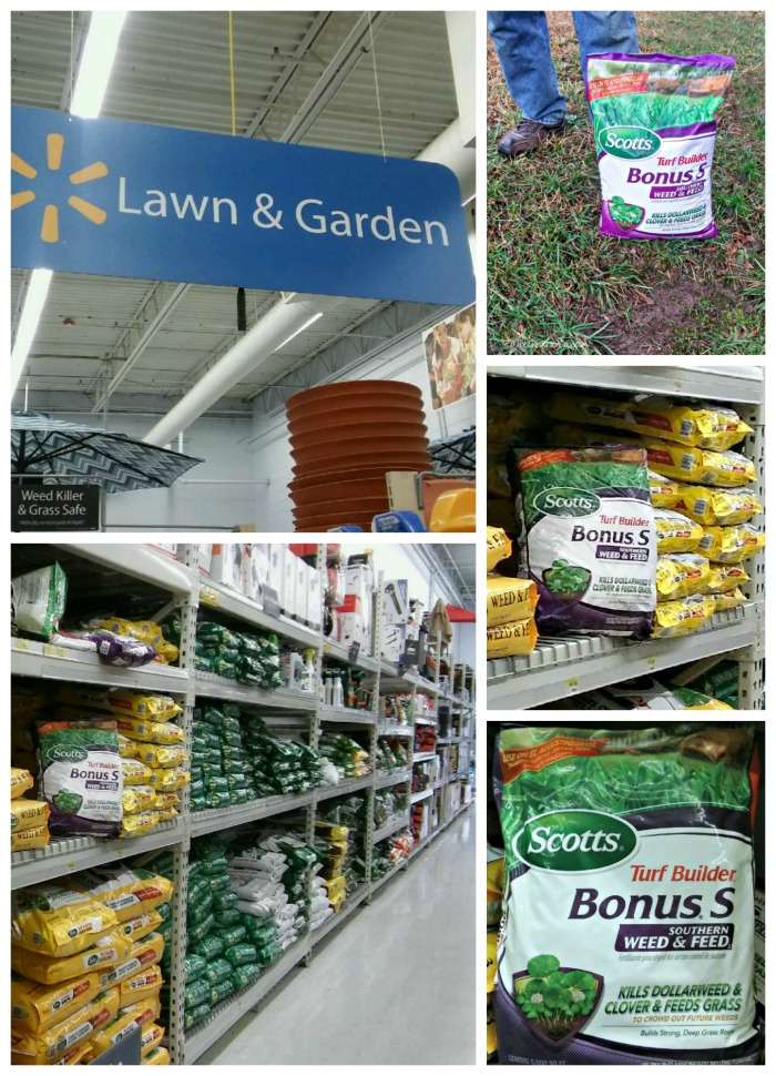 Scotts® Turf Builder® Bonus® S Weed & Feed Southern collage