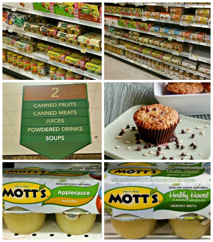 Mott's applesauce collage