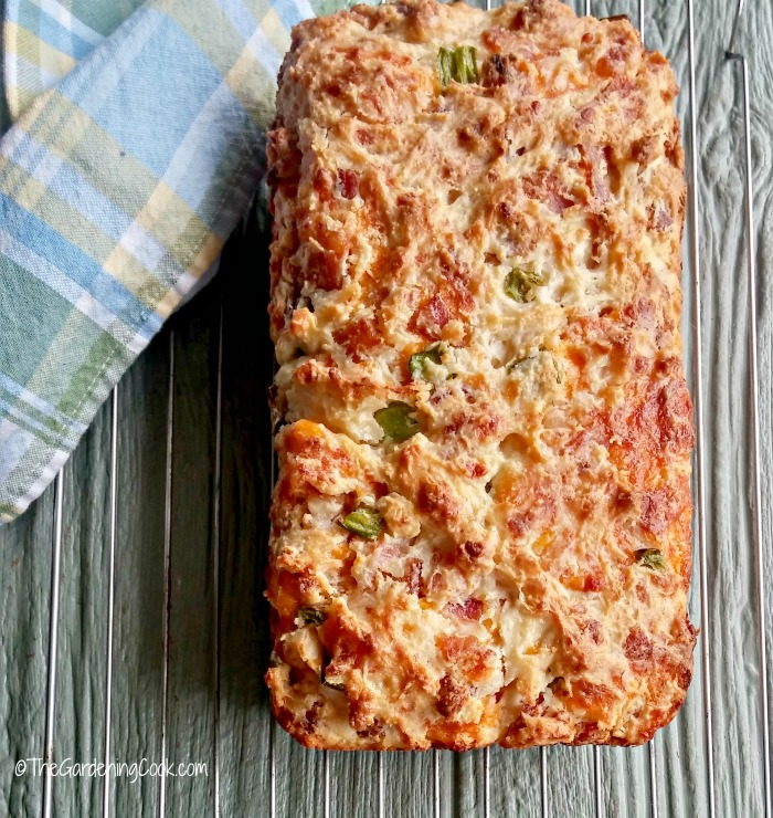 Bacon jalapeno cheese bread