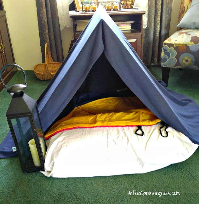 Indoor camping party tent