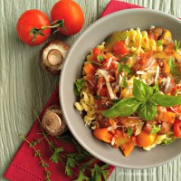 Roasted Tomato Vegetable Marinara Sauce with Pasta