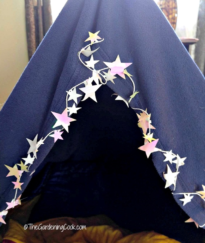 Starry night for Indoor Camping Party