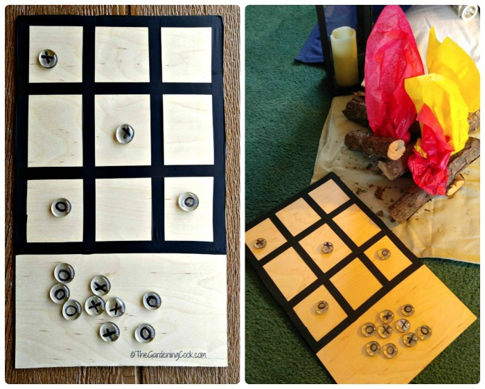 Easy DIY tic tac toe game