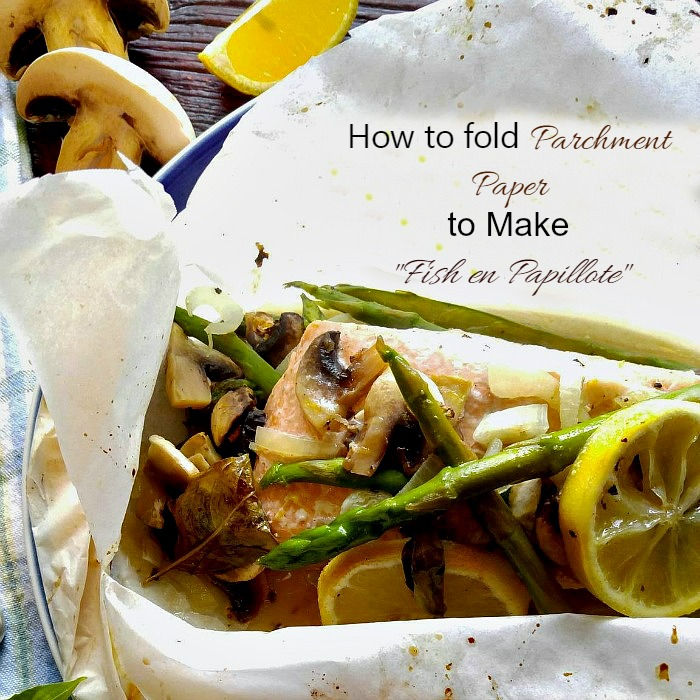 cooking fish in parchment paper Make quick and easy parchment packets filled with fresh fish and  up dinner at the same time with handy and elegant paper packets cooking in parchment is a.