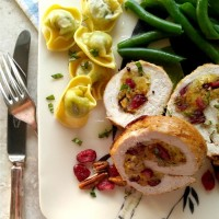 This cranberry pecan stuffed pork tenderloin is a perfect choice for a busy weeknight OR a special occasion. thegardeningcook.com
