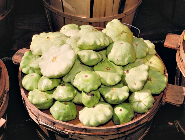 PattyPan Sqauash has a delightful scalloped edge and delicate taste.