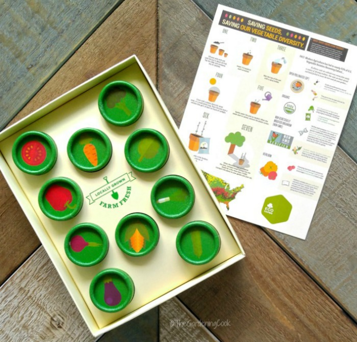EcoFarms Heirloom seeds kit