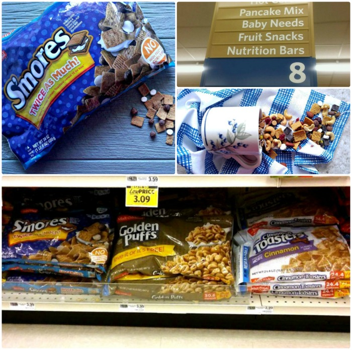 S'Mores Malt-O-Meal Collage