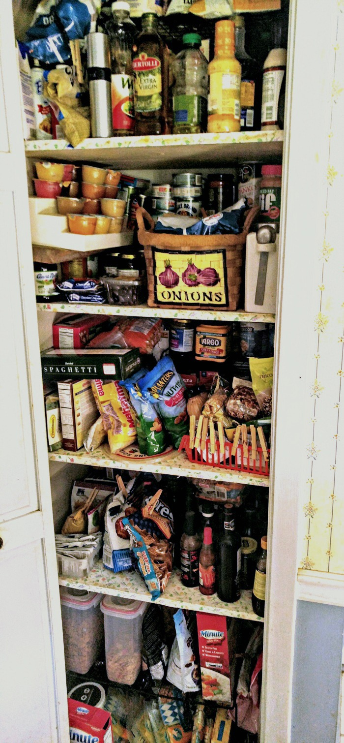 My pantry was jam packed and it was impossible to find anything in it!