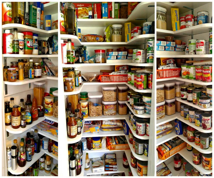 Finished pantry closet makeover