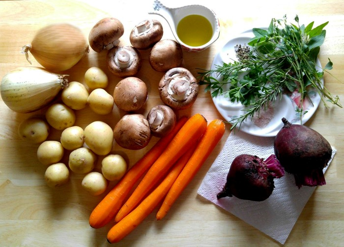 Hearty root vegetables will cook up to make a delicious fall side dish