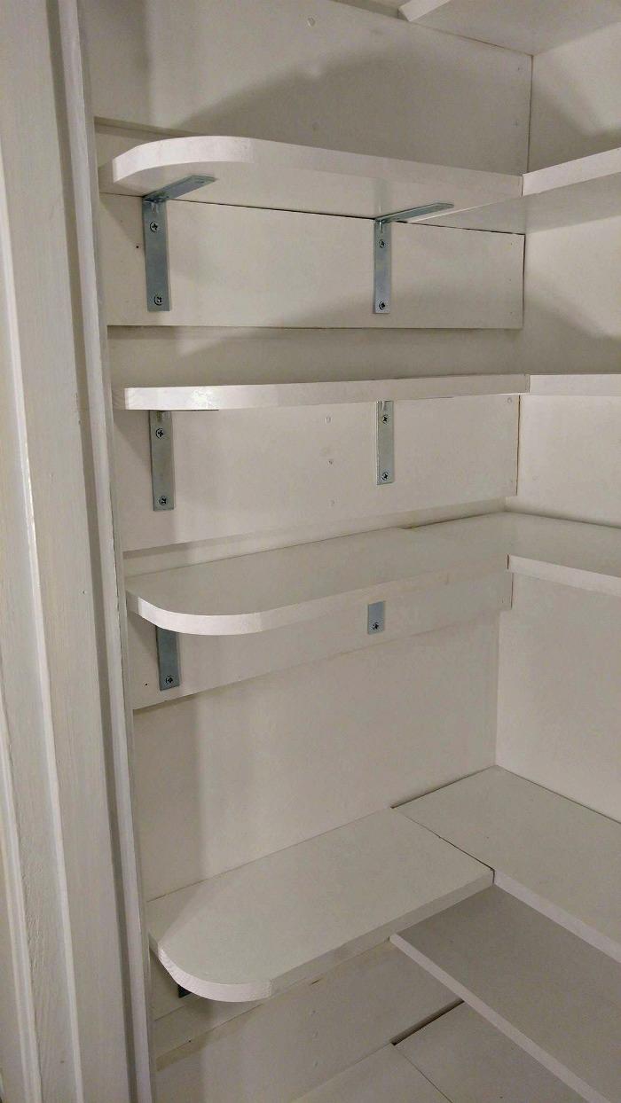 Pantry Closet Makeover Tutorial The Gardening Cook
