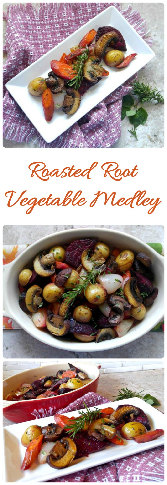 This Roasted root vegetable medley is a perfect fall side dish. #SamsClubMag# CollectiveBias #ad