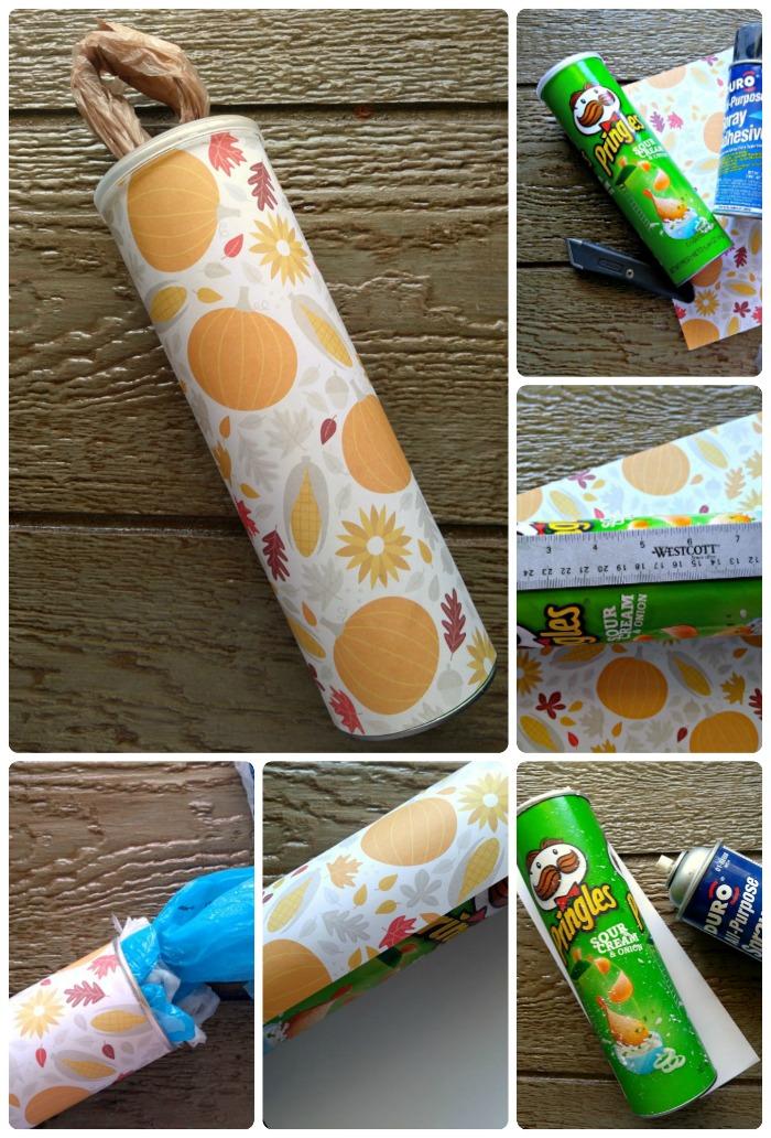 Grocery Bag Dispenser Collage