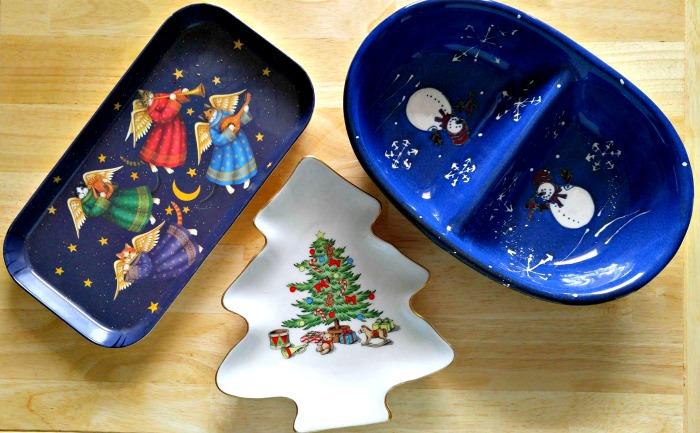 Use seasonal platters to set a holiday mood