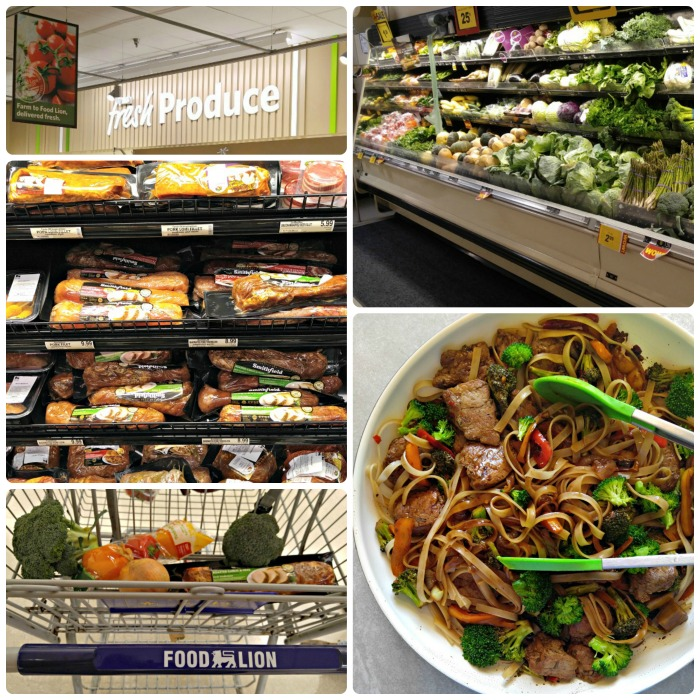 Smithfield store collage at Food Lion