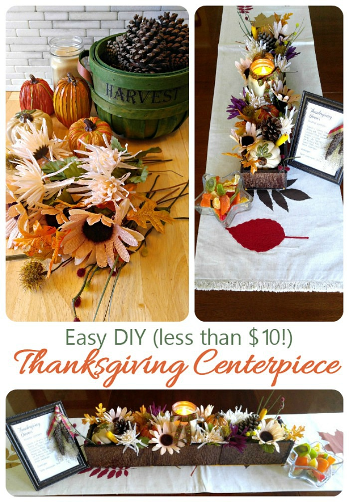 Thanksgiving centerpiece easy reclaimed wood project - Inexpensive thanksgiving centerpieces ...