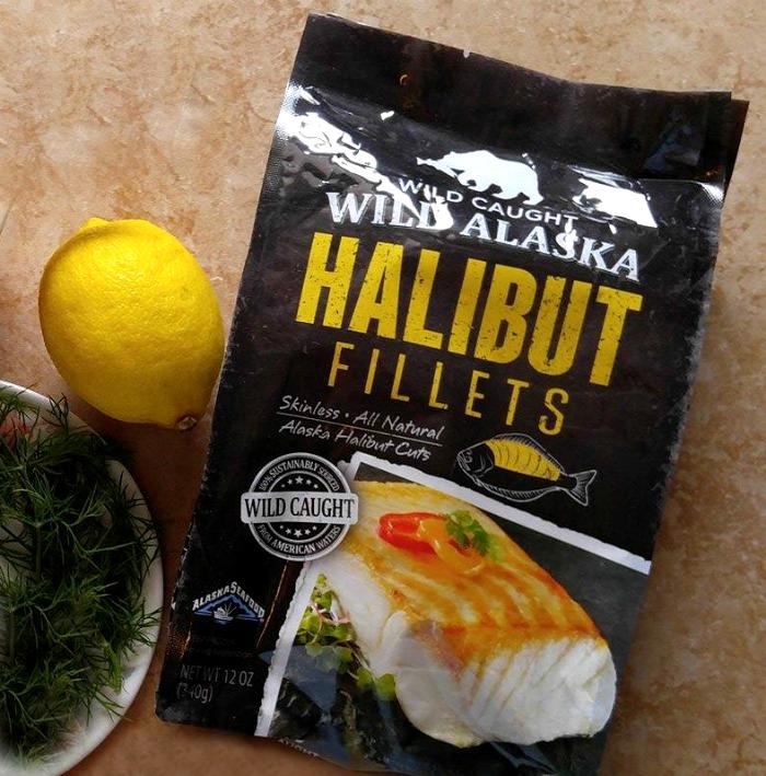 Wild Caught Alaska halibut