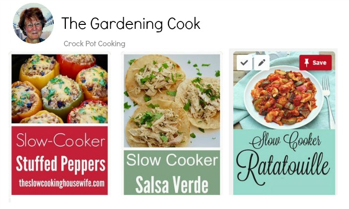 Crock Pot Cooking Board on Pinterest
