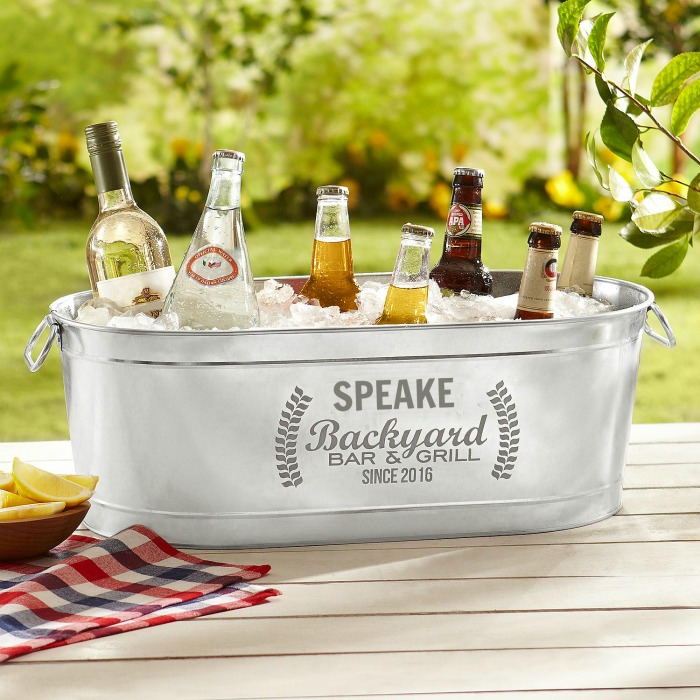 Personalized wine cooler