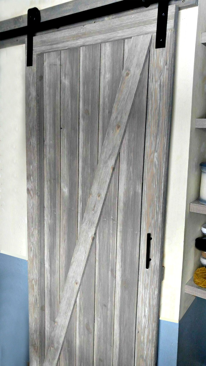DIY Shiplap barn door