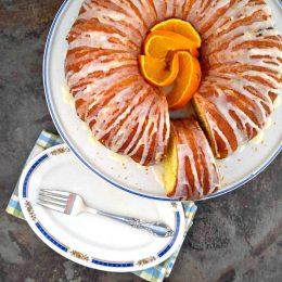 orange bundt cake