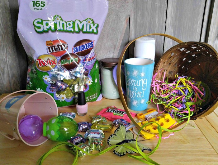 supplies for the Easter Egg Hunt with Clues