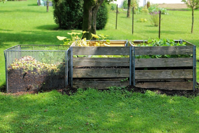 Compost bins make the job of composting easier