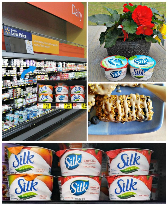Silk Dairy-Free Yogurt Alternative collage