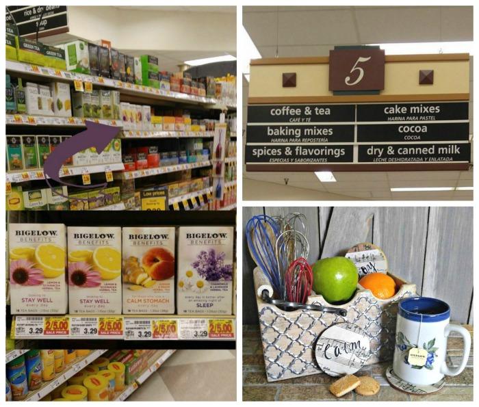 Bigelow Tea Store collage