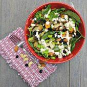 Tasty roast vegetable salad