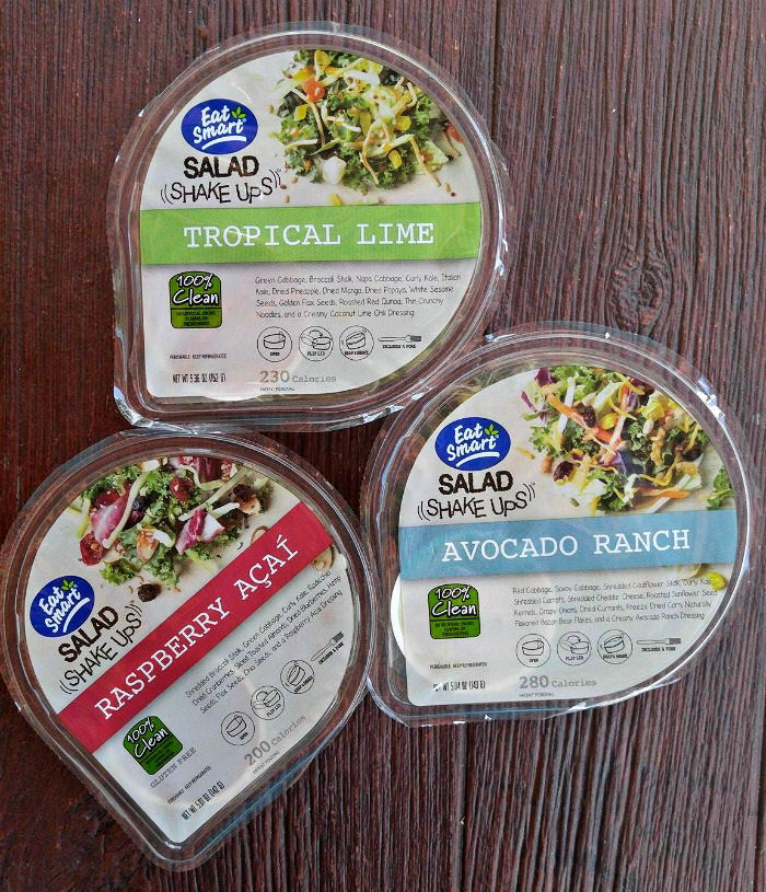 East Smart Salad shake ups are perfect for a lunch on the go