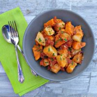 Italian sweet potatoes