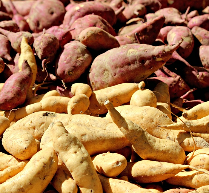 sweet potatoes come in more than just one color