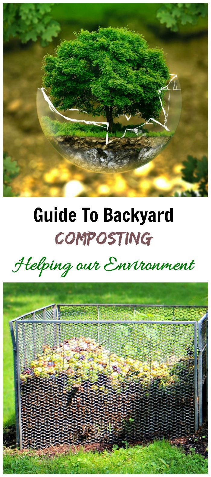 This guide to composting will answer your questions about making nutrient rich fertilizer for your garden.