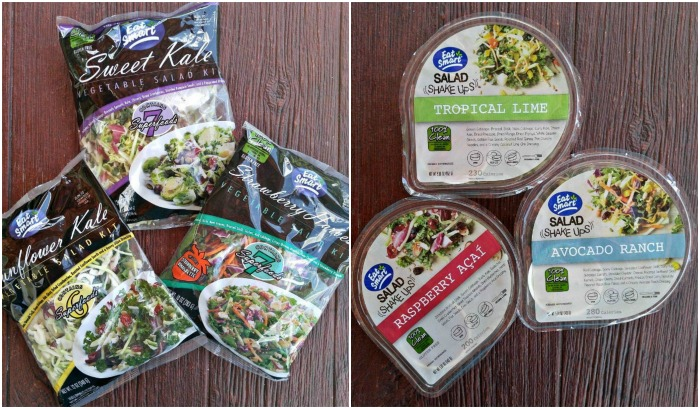 Eat S art Salad Kits come in 6 flavors