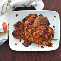 Paleo grilled pork chops