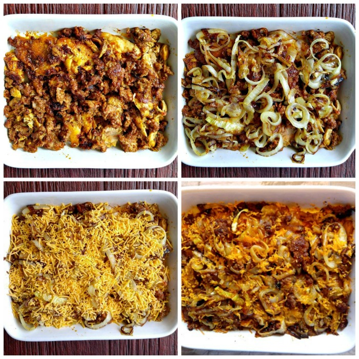 Making chori pollo