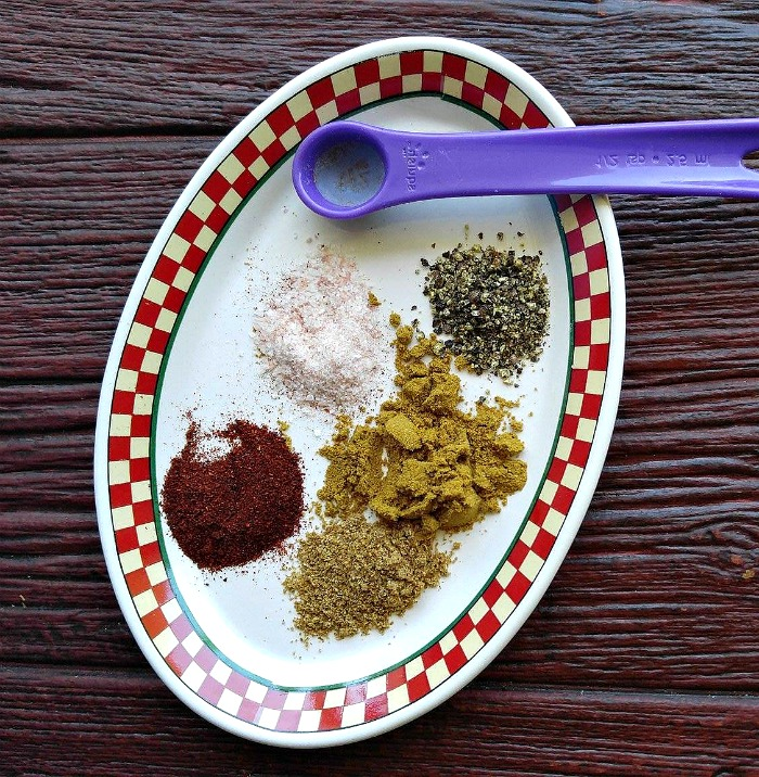 Spices for cauliflower rice