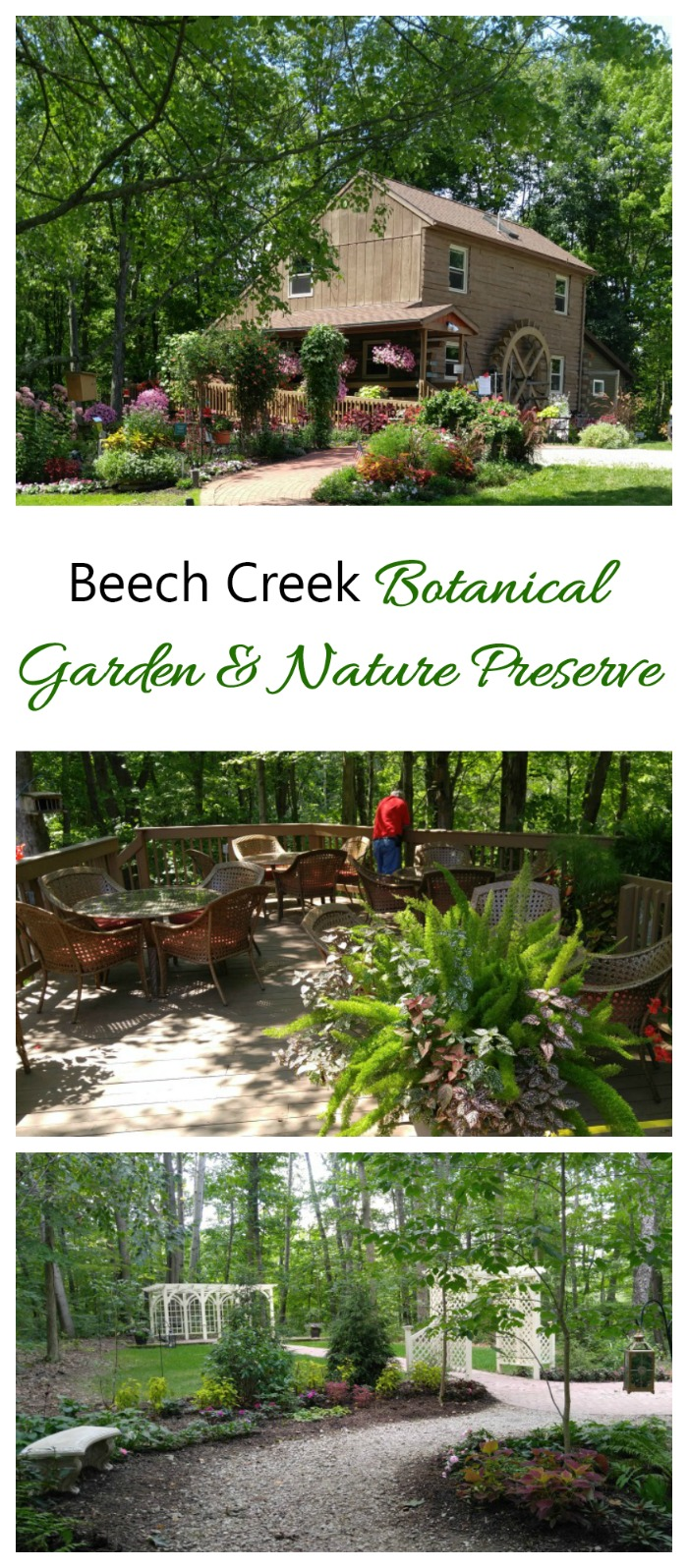 Beech Creek Botanical Garden is a wonderful place to teach children about the joys of gardening in a hands on environment. #botanical gardens #gardentours