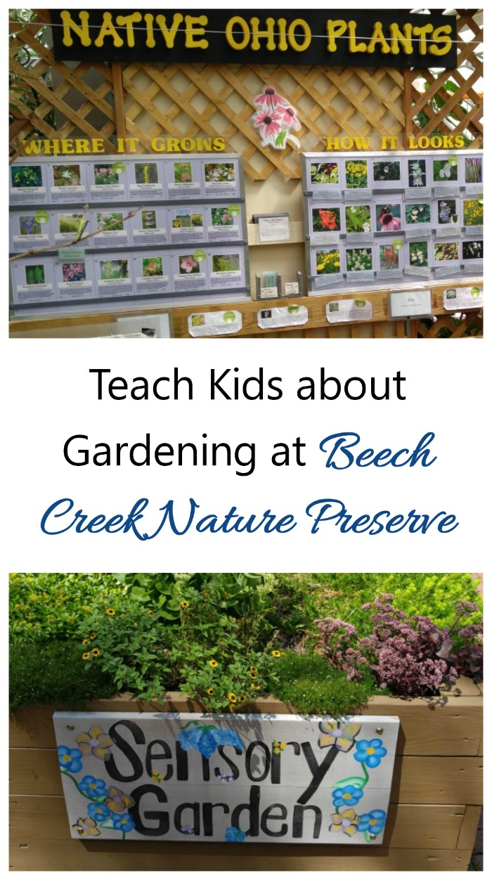 Beech Creek Botanical Garden is a wonderful place to teach children about the joys of gardening in a hands on environment. #botanicalgardens #gardentours