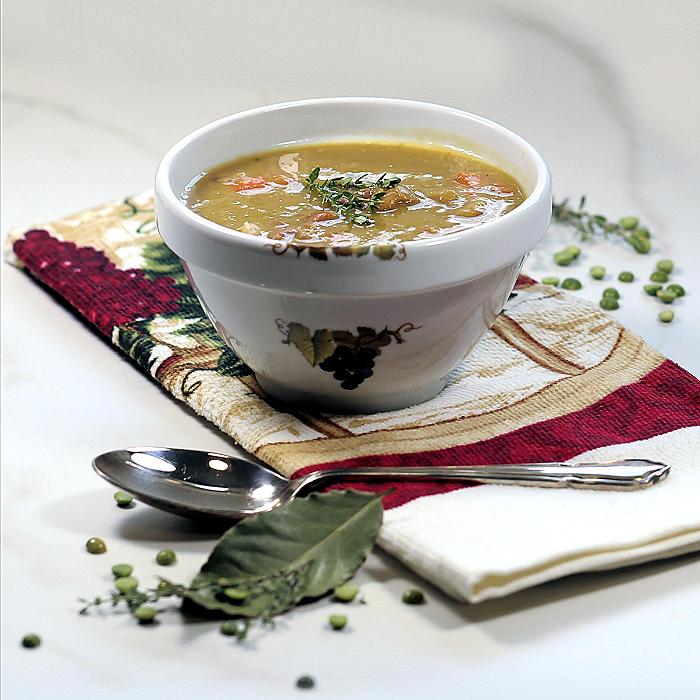 Split pea soup slow cooker recipe