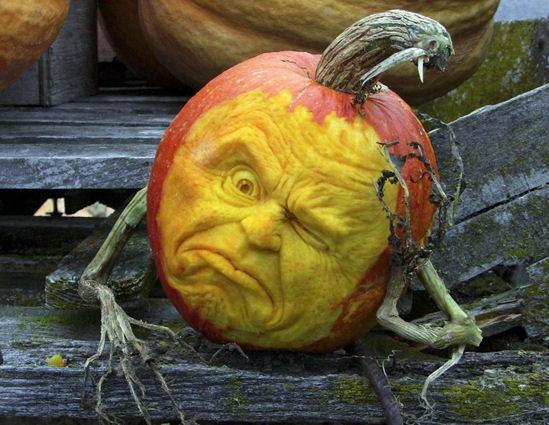 food art pumpkin